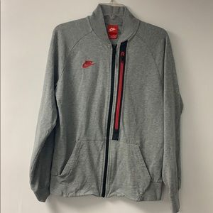 Mens Nike Run and Gun Warm-Up Jacket Tech Zipper
